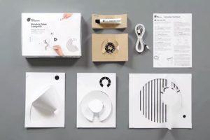 Electric Light Paint: bộ dụng cụ giúp biến mọi mẫu giấy thành đèn phát sáng